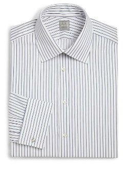 Ike Behar  - Regular-Fit Crosby Striped Dress Shirt
