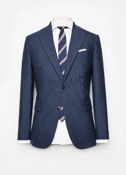 Mango - Slim-Fit Houndstooth Suit Blazer