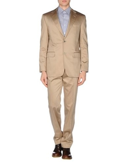 Sand Xo - Lapel Collar Suit