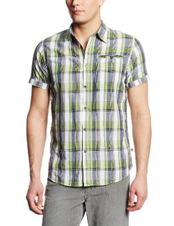 Dakota Grizzly - Short Sleeve Plaid Shirt