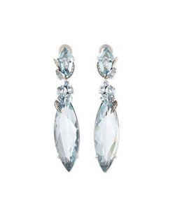 Alexis Bittar Fine - Marquis Sky Quartz Drop Earrings