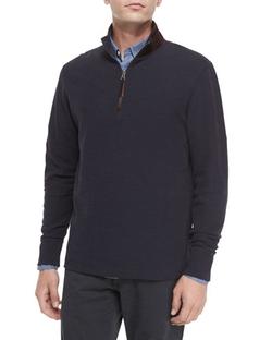 Billy Reid - Half-Zip Knit Pullover Sweater