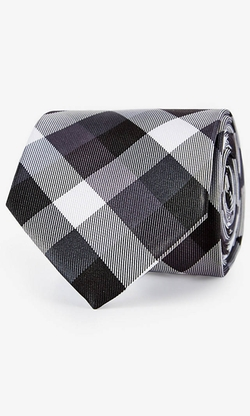 Express - Narrow Tie - Check