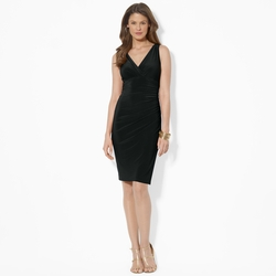 Ralph Lauren - Sleeveless V-Neck Dress