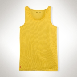Ralph Lauren - Stretch-Cotton Tank Top