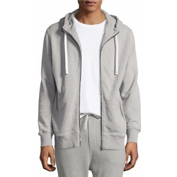 Iro - Clevy Zip-Front Knit Hoodie