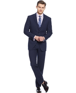 Perry Ellis - Peak Lapel Slim-Fit Suit