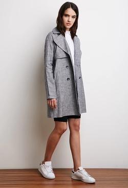Forever 21 - Linen-Blend Trench Coat