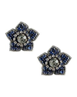 Deepa Gurnani  - Floral Earrings