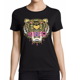 Kenzo - Cotton Tiger Icon Graphic Tee Shirt