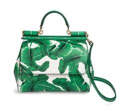 Dolce & Gabbana - Printed Crossbody Satchel Bag