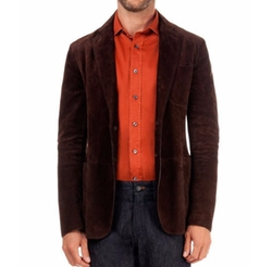 Berluti - Suede Two-Button Jacket