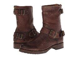 Frye  - Veronica Back Zip Short Boots