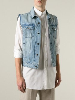 AMI Alexandre Mattiussi  - Cotton Denim Vest