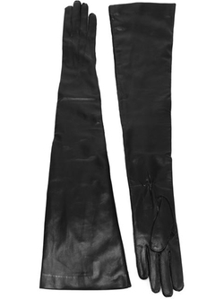 Ann Demeulemeester - Long Leather Gloves