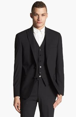 John Varvatos Star USA - Red Label Peak Lapel Blazer