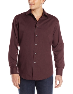 Van Heusen - Sateen Stripes Button Up Shirt