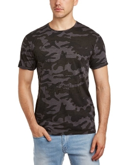 G-Star Raw - Camo Allover Crew Neck Short Sleeve Tee Shirt