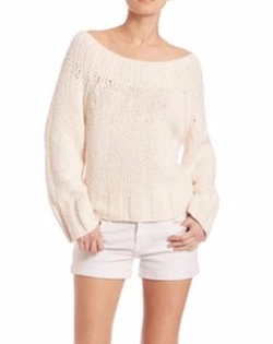 Free People  - Beachy Slouch Knit Pullover Sweater