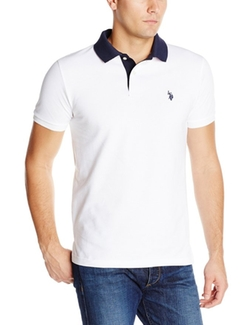 U.S. Polo Assn. - Slim Fit Solid Pique Polo Shirt