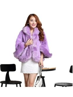 Chericom Store-Fur Shawl - Pashmina Elegant Wrap Scarf Coat