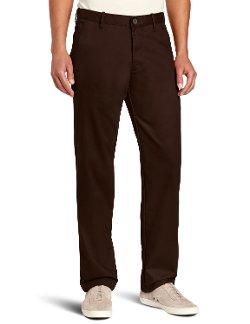 Haggar - Slim Fit Flat Front Chino Casual Pants