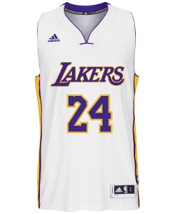 Adidas - Kobe Bryant Los Angeles Lakers Swingman Jersey