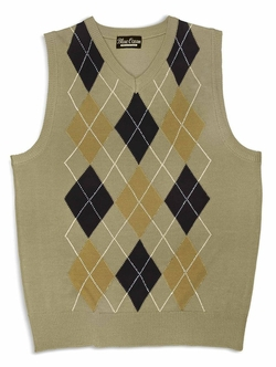 Blue Ocean  - Boys Argyle Sweater Vest