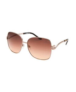 Just Cavalli - Oversized Rose-Tone Sunglasses