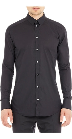 Dolce & Gabbana - Slim-Fit Poplin Dress Shirt