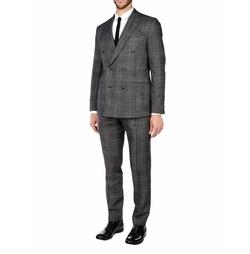 Boglioli - Check Double-Breasted Suit