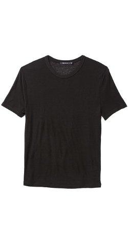 T by Alexander Wang - Slub Crew Neck T-shirt