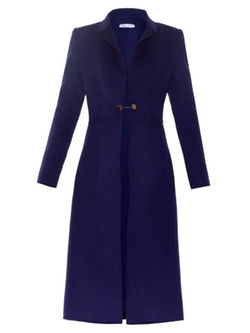 Oscar De La Renta   - Single-Breasted Wool-Blend Coat
