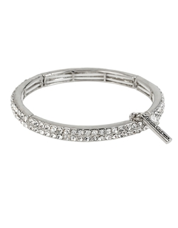 Kenneth Cole New York  - Sapphire Lights Crystal Stretch Bracelet