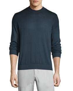 Theory  - Remsey Castelle Faded Crewneck Sweater
