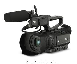 JVC - 4K Cam Compact Handheld Camcorder
