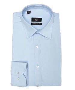 Alara  - Solid Cotton Point Collar Dress Shirt