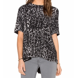 Enza Costa - Short Sleeve Trapeze Top