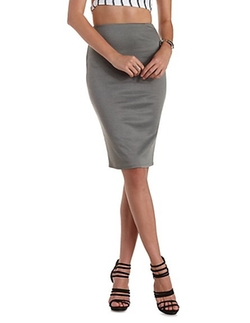 Charlotte Russe - High-Waisted Bodycon skirt