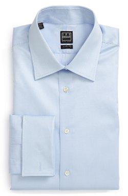 Charvet  - Ike Behar Regular Fit Solid French Cuff Dress Shirt