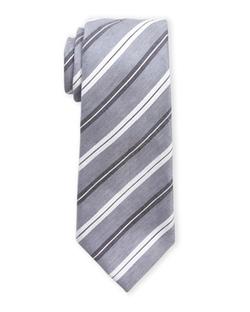 Vince Camuto - Cosimo Striped Linen Tie