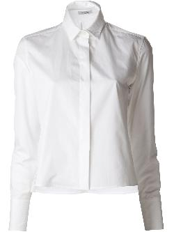 VALENTINO - short collared blouse