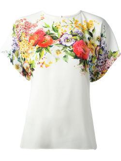 Dolce & Gabbana  - Floral Print Blouse