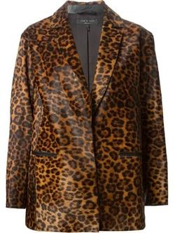 Rag & Bone - Leopard Print Blazer