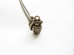 Simple Jewelry Sale - Hand Grenade Necklace
