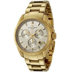 Jacques Lemans  - Chronograph Gold-Plated Stainless Steel Watch