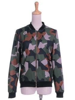 Anna-Kaci - Camouflage Print Jacket