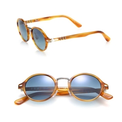 Persol - 48MM Round Acetate Sunglasses