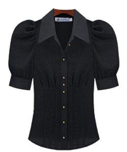 Hkjievshop - Vintage Elegan Shirts