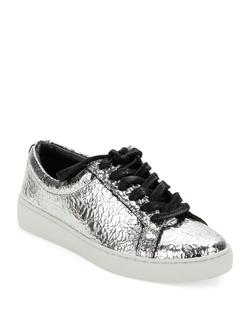 Michael Kors Collection - Valin Runway Metallic Leather Sneakers